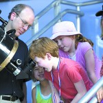 The WSU Planetarium opened its shows to the public in January.