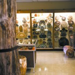 There is a large collection of petrified wood at the Jacklin Culver Rock Museum at Washington State University in Pullman.