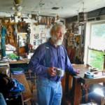 John Elwood in his Elberton, Wash., workshop. (Barry Kough/Lewiston Tribune)