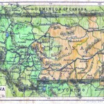 Lisa Middleton of Kalispell, Mont., digitally rehabiliates old maps. She restores them to their original black and white condition and then adds color with watercolor paints, pastels, and color pencils.