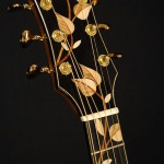 A handcrafted guitar neck by Joel Stehr.