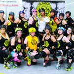 Hells Canyon Honeys Roller Derby Team.