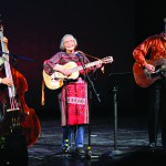 Faith Petric, an Orofino native and folk singer, played with the