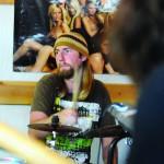 Trenton Meeds on drums.