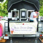 The MacArthur's Ice Dream Shoppe can be found Saturday afternoons at the Lewiston Farmers Market.