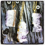 For her Disco Gems line of jewelry, Molly Mundell of Clarkston uses one-of-a-kind crystals.