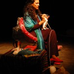 "Dalia Basiouny plays a woman defining her Arab and Muslim identity post 9/11 in ""Solitaire."""