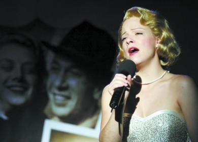 Strohmaier portrayed singer and actress Rosemary Clooney in 2005.