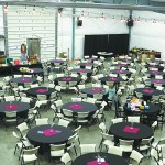The winery functions as an event center serving up to 500 people.