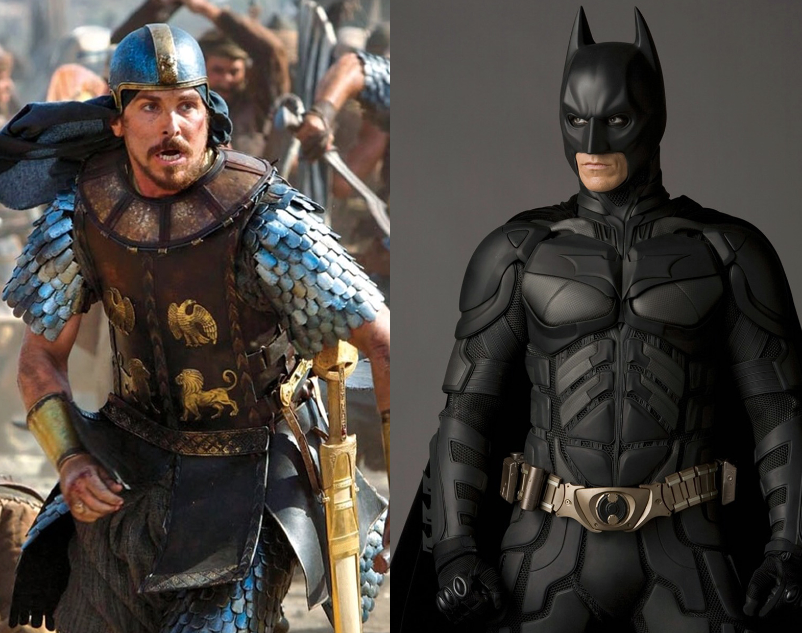 Trailer Talk: Who is swankier, Moses or Batman?