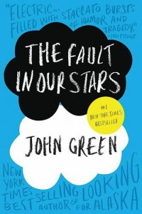 "A cover of ""The Fault in Our Stars,"" by John Green."
