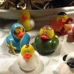 Some nativity scenes even have a sense of humor.
