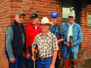 Elliott Marks and the Cycle will play at 7 p.m. Saturday at the Valley Bluegrass Stage in the Clarkston High School auditorium. Members are (from left) Tom Hackwith, Joe Syverson, Elliott Marks, Duane Stephens and Denis Hackwith.