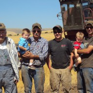 The Storey Farm Boys, 4 generations Stanley Storey, Spud Storey, Ira