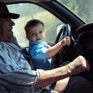 Stanley Storey & Great Grandson Randy Storey, Which is the better driver?