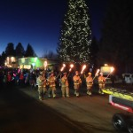 Children march in the McCall Winter Carnival's 2014 Torch Light Parade, one of two big parades each year.