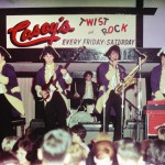 Paul Revere and the Raiders perform in costume on the Casey's stage.