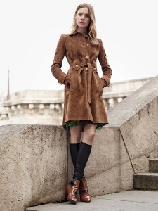 Suede is the new leather. Photo by Photographed by Karim Sadli for Vogue magazine.