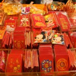Children are given red envelopes with money during the holiday.