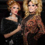 As a drag daughter, Nadia Fusionn (left) is mentored in the art of female impersonation by Ivanaha Fusionn (right).