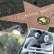 Spock's ears: a pointy trademark for Leonard Nimoy