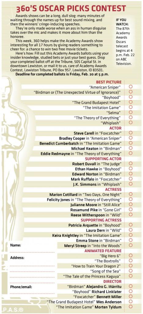 Oscar-picks