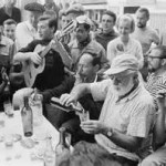 Hemingway traveled extensively throughout his life and had a taste for wine.