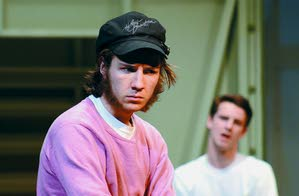 """One Flew Over the Cuckoo's Nest,"" James Campbell (left) portrays R.P. McMurphy and Kevin Herriman is Billy Bibbit."