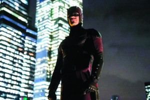 "Hell's Kitchen is now under the protection of Daredevil (Charlie Cox) in Marvel's new show on Netflix ""Daredevil."""