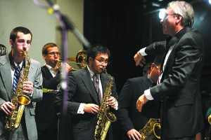 The Washington State University Jazz Big Band will take the stage Tuesday at Bryan Hall Theatre.
