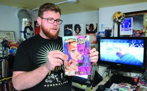 Talk Nerdy To Me comic book store owner Derek Yon of Lewiston.