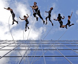 Bandaloop dancers have performed across the country turning public spaces into stages.