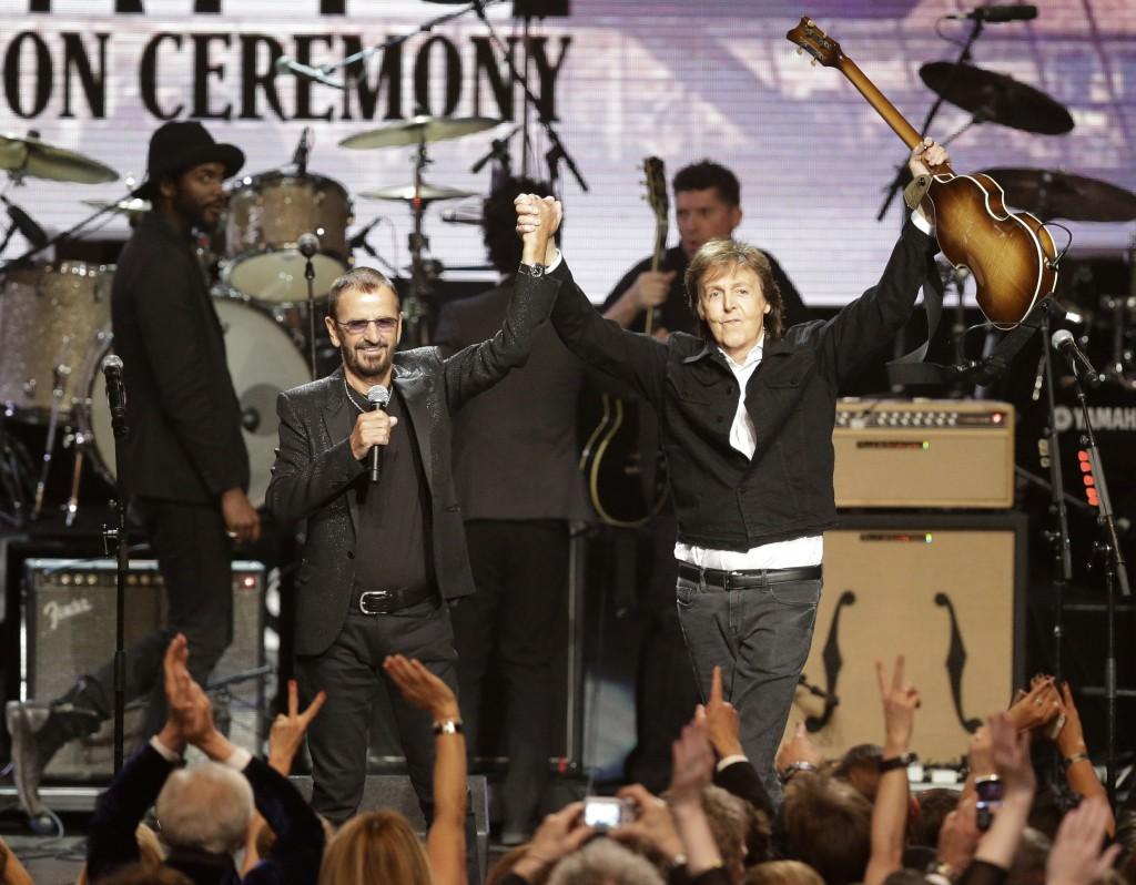Paul McCartney, Ringo Star