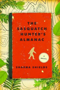 """The Sasquatch Hunter's Almanac"" is Shield's first novel."