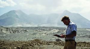 Richard Waitt was part of a team studying volcanoes in the Cascade Range when Mount St. Helens erupted.