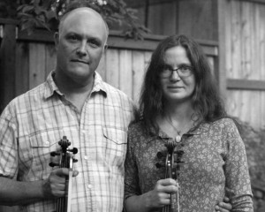Spokane musicians Greg and Caridwen Spatz will perform Saturday at Artisans at the Dahmen Barn in Uniontown.