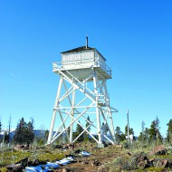 Summer dare: Forget the tent and RV, try camping in a lookout tower