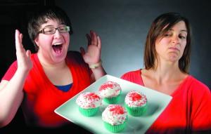 Potluck cupcakes......