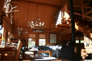 Couples in the show are seeking to buy remote homes like the McGreer's luxury cabin, on the market for $425,000.