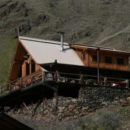 Reality TV series on off-grid living visits Hells Canyon Cabin