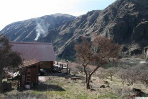 """In an episode of """"Unplugged Nation,"""" a family spends four days living in a Hells Canyon cabin accessible only by boat."""