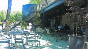 Swilly's new location includes a large outdoor patio.