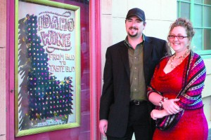 Drew and wife Rhea at the Idaho screening of the film in Boise. Photo courtesy of Peppershock Media