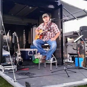 360_Lucky Rowland on his mini stage