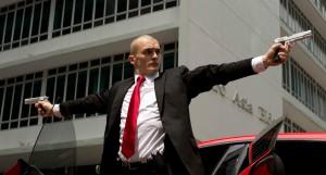 """Agent 47 (Rupert Friend) is a superhuman assassin in """"Hitman: Agent 47."""""""