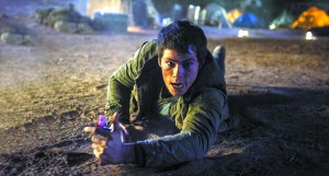 "Thomas (Dylan O'Brien) encounters new dangers in ""The Maze Runner: The Scorch Trials."""