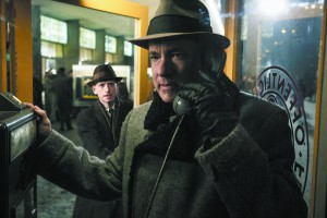 "In this image released by Disney, Tom Hanks appears in a scene from ""Bridge of Spies."" (Jaap Buitendijk/DreamWorks Pictures/Fox 2000 PIctures via AP)"