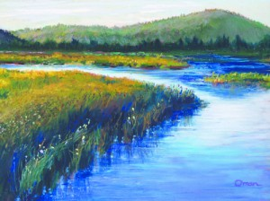 """""""Wandering Waters"""" by Alison Oman will be on exhibit as part of the Snake River Showcase."""
