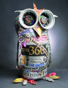 Owl out of trib papers....