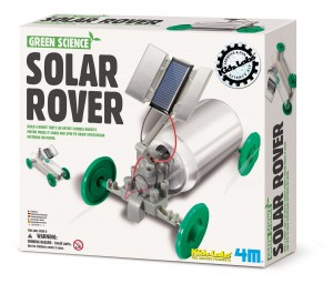 Turn a soda can into a solar-powered rover in this build-it-yourself kit for kids.